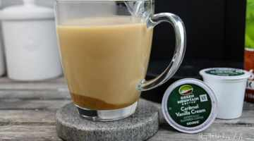 How to make Caramel Chai Coffee Latte