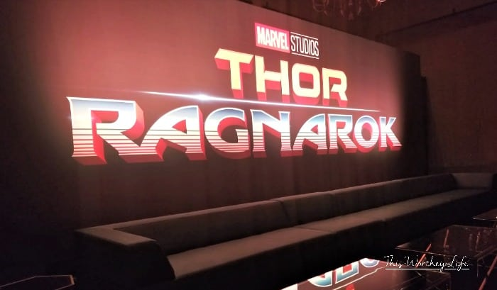 Thor Ragnarok Press Junkey