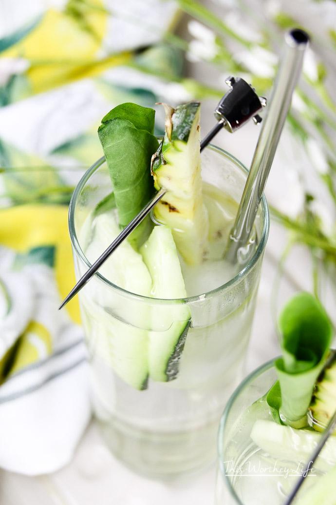 Sorrel Tonic Mojito Infused Water