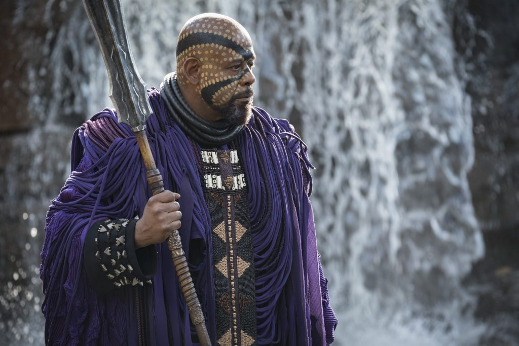 Forest Whitaker Black Panther Cast