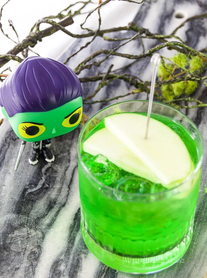 Green Apple Vodka Cocktail