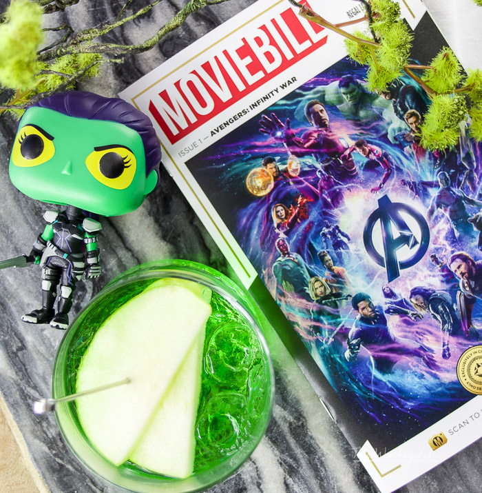 Gamora Avenger Cocktail
