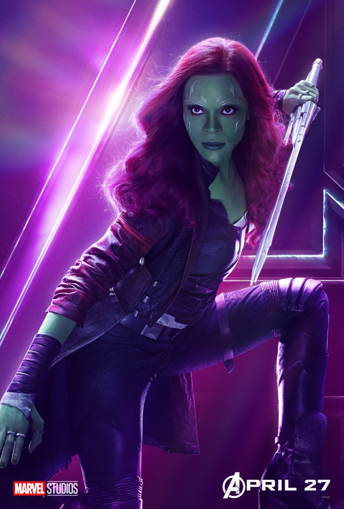 Infinity War Gamora Poster