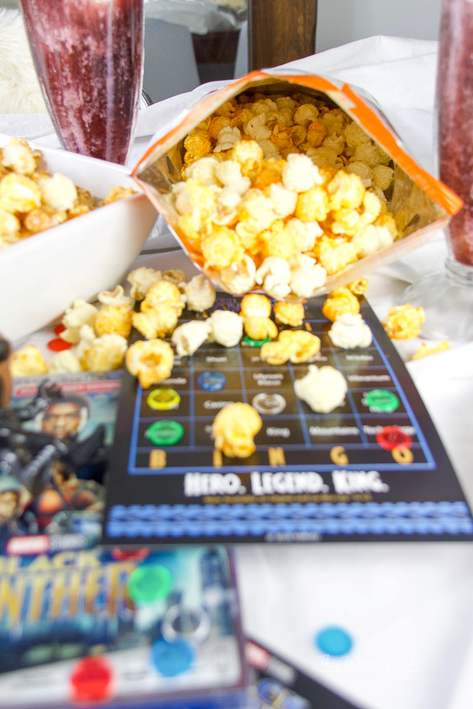 Black Panther Movie night watch party