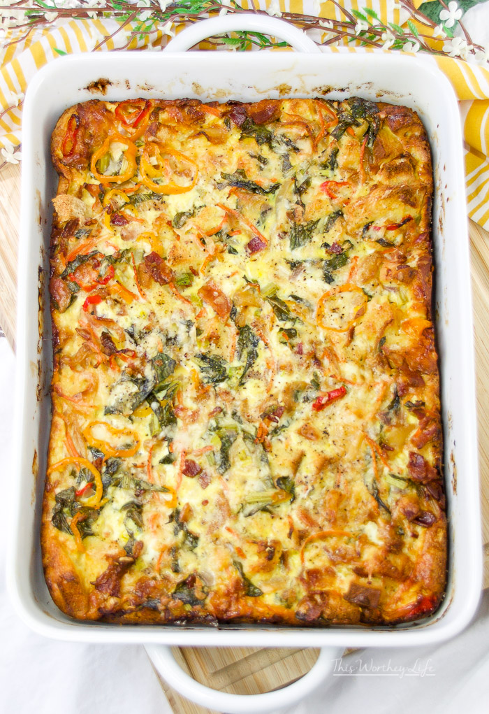 The Best Breakfast Oven Bake Recipe