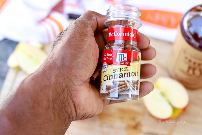 The Cinnamon Simple Syrup