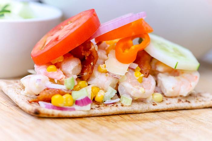 How to make a Shrimp Sandwich