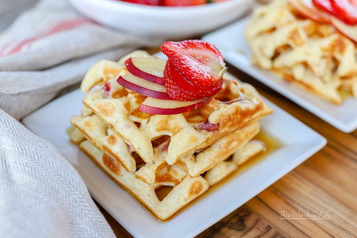 The Best Waffle Breakfast