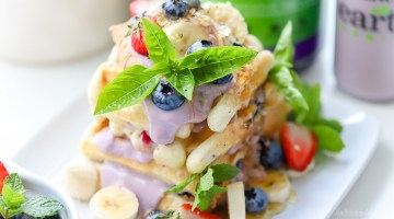 The Best Gluten Free Breakfast Waffles