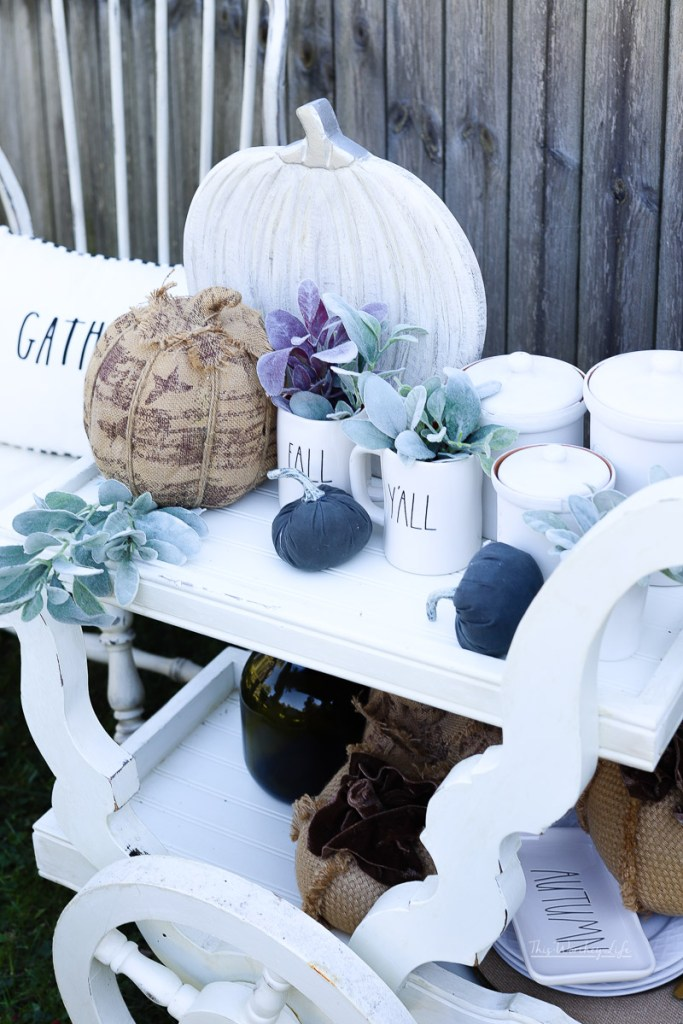 Shabby Chic Fall Decor Ideas