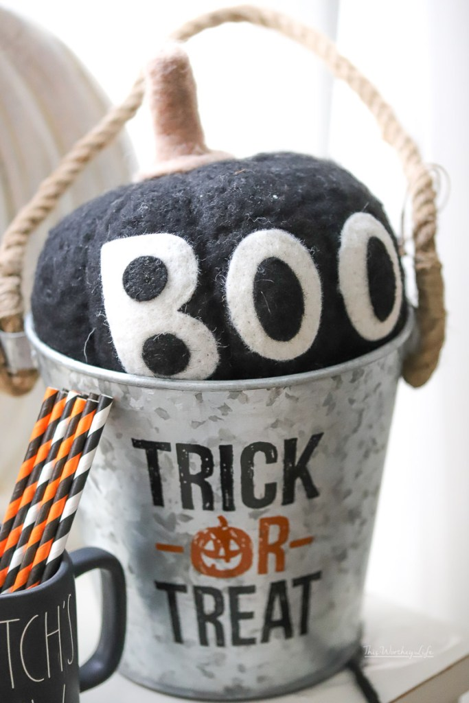 Halloween Party Idea using Rae Dunn decor