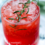 You've got Christmas dinner covered, but what to serve as a Christmas drink? Try our Christmas mocktail recipe. It's a Cranberry Tea Punch, mixed with tons of great flavor and perfect for the whole family to enjoy!