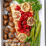 This holiday season, bring extra flavor to your holiday dinner by trying our Grilled Honey Salmon. Along withSmoky Cranberry + Apple Sauce, grilled red skin potatoes and asparagus, this is a recipe perfect for your holiday dinner or any time of the year. So, let's get grilling!