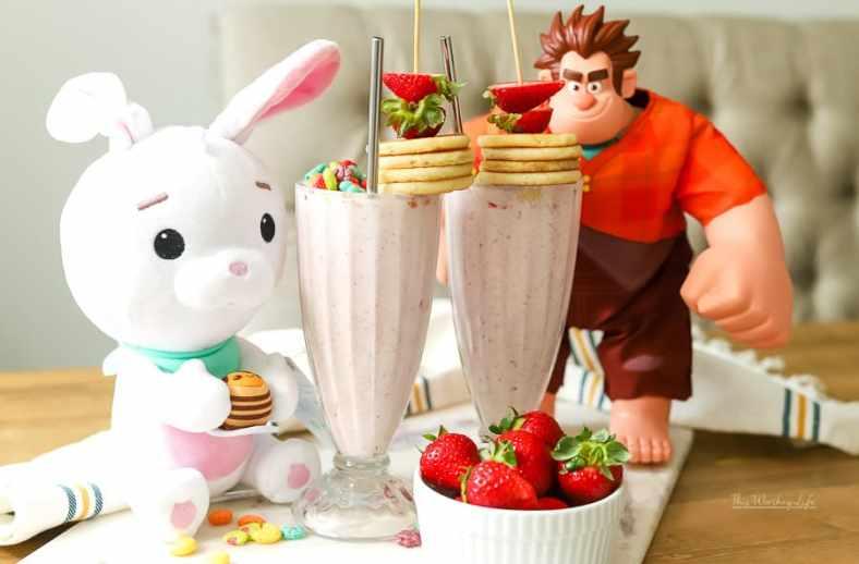 The Best Strawberry Milkshake
