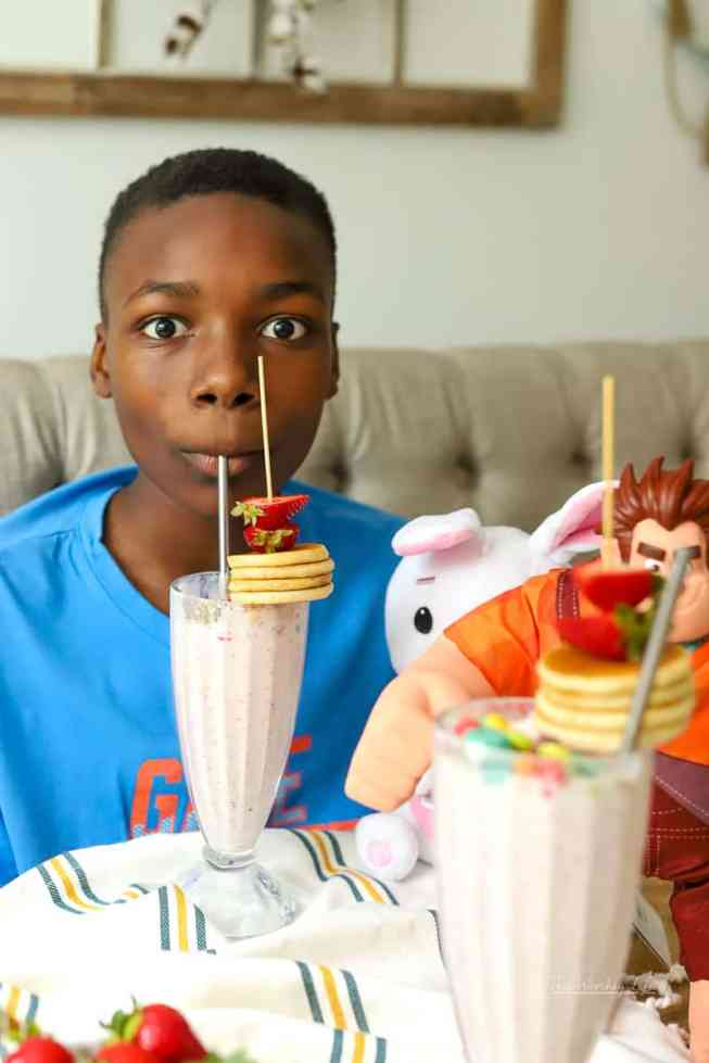 The Best Kid's Milkshake