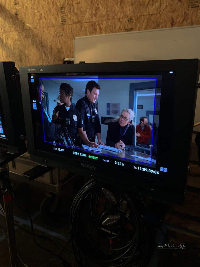Set Visit + Photos Of ABC's The Rookie