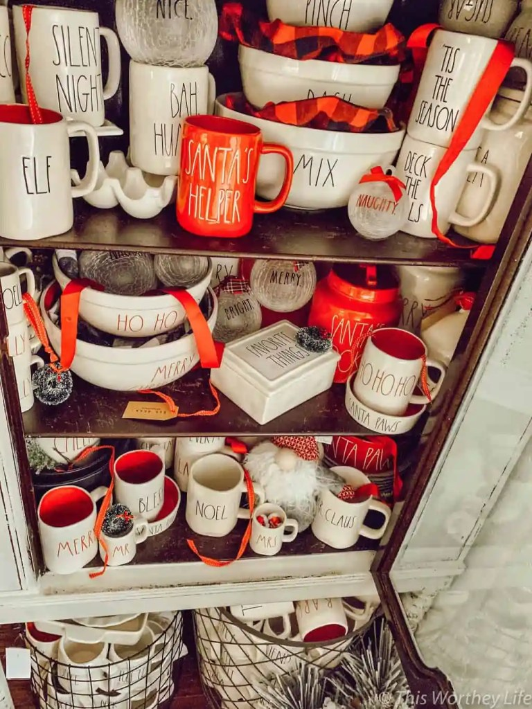 Rae Dunn and Elf on the Shelf Ideas
