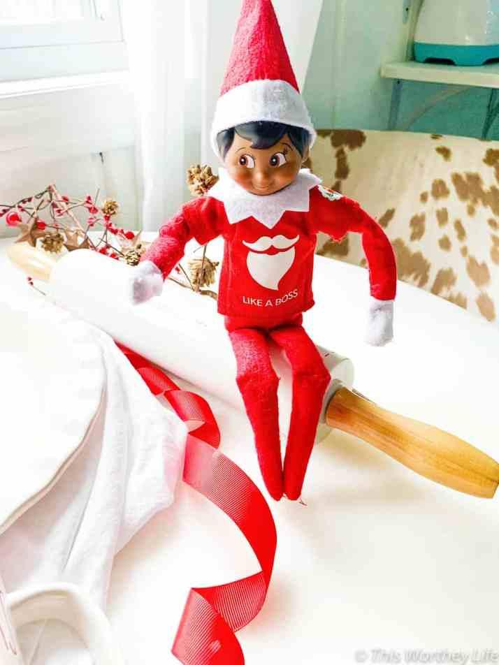 easy Elf on the shelf ideas