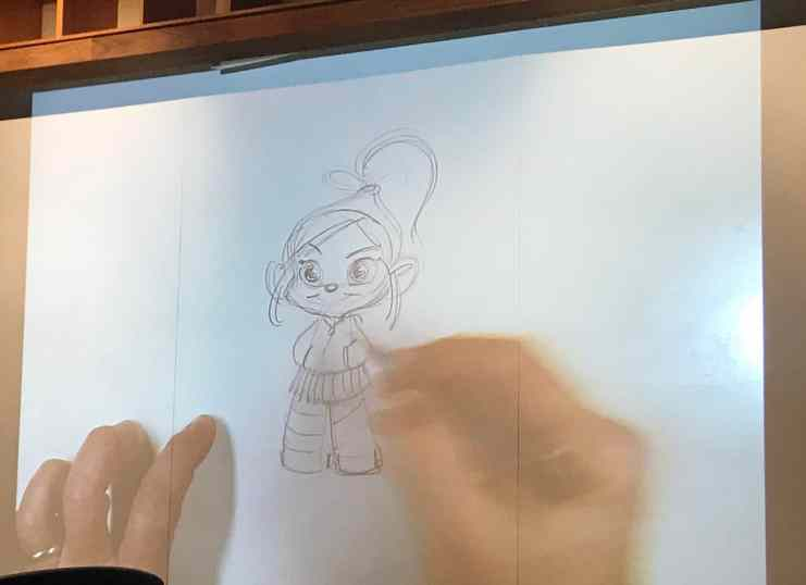 How to draw vanellope von schweetz
