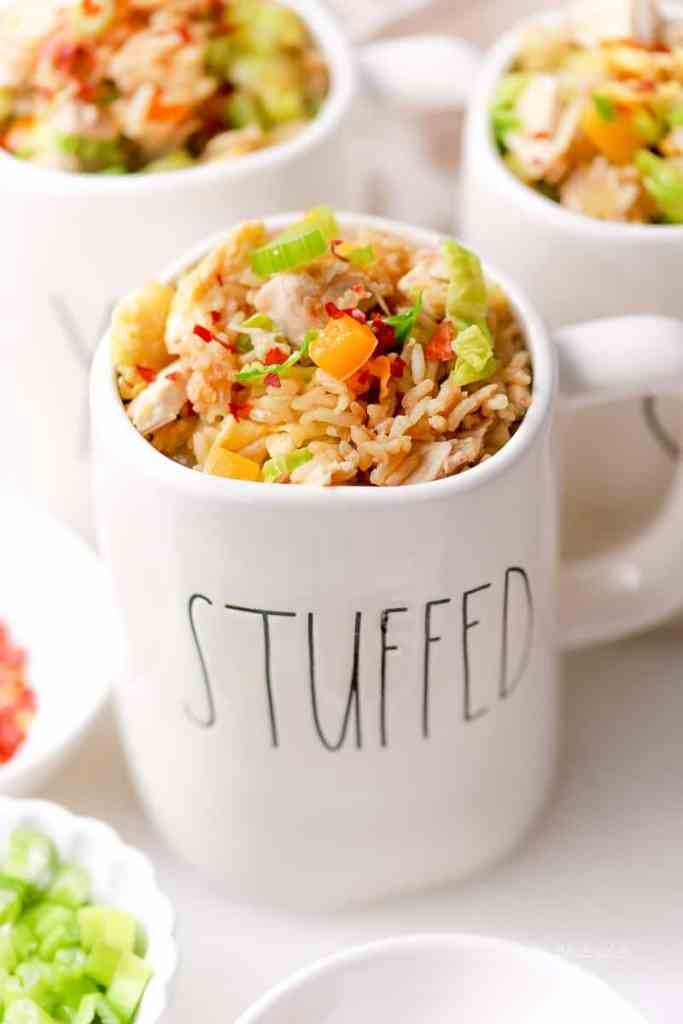 Have left-over turkey? Here's a quick stir-fry dinner idea made in the Instant Pot. Paired with Brown Rice (also made in the Instant Pot), this is a delicious and easy dinner idea filled with tons of fresh veggies, brown rice, and turkey!