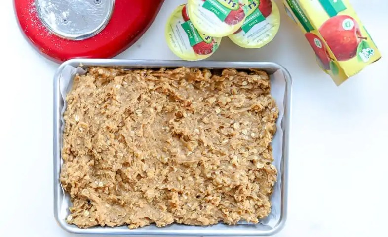 Directions for Peanut Butter Walnut Cookie Squares