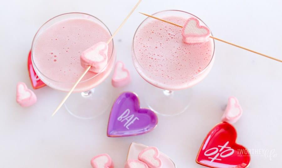 Raspberry Piña Colada Cocktail
