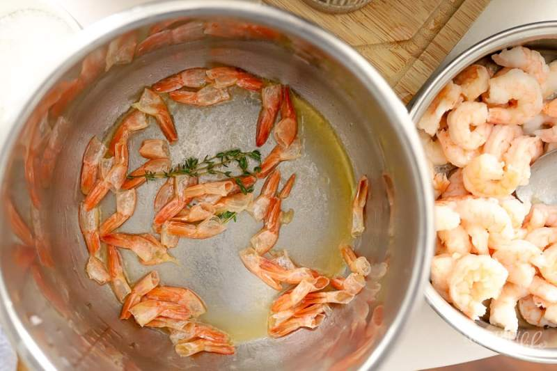 The Easiest Instant Pot Shrimp Bisque