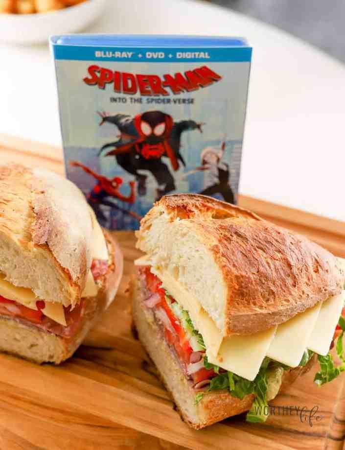 Spider-Verse HERO Sandwich