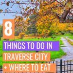 Are you planning a getaway to one of Michigan's popular destination spots, Traverse City, Michigan? Find out the best places to eat, things you can't miss, and where to stay.