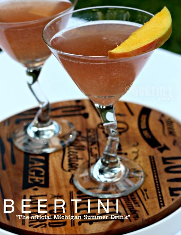 Beertini Recipe With Lemonade & Michigan Products