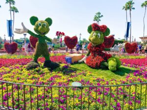 The International Flower and Garden Festival at Epcot is the perfect picture of spring. It's also an event that highlights the beauty of Disney horticulture. I'm sharing 37 things to do while you're there at the Flower & Garden Festival.