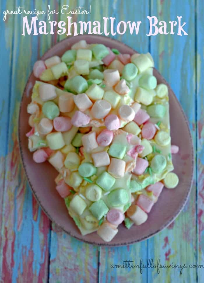 Marshmallow Bark Recipe: Great For Easter