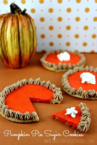 Recipe: Pumpkin Pie Sugar Cookies