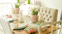 How to decorate your table for Easter