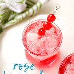 Get ready for summer lemonade by creating our Rose Lemonade Mocktail recipe. With a bit of rose simple syrup, lemonade, and soda, this mocktail will be great to serve at a summer party!