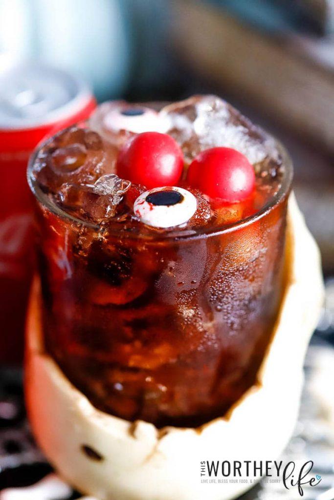 Halloween Cocktail Idea   Skeleton Fireball Whiskey