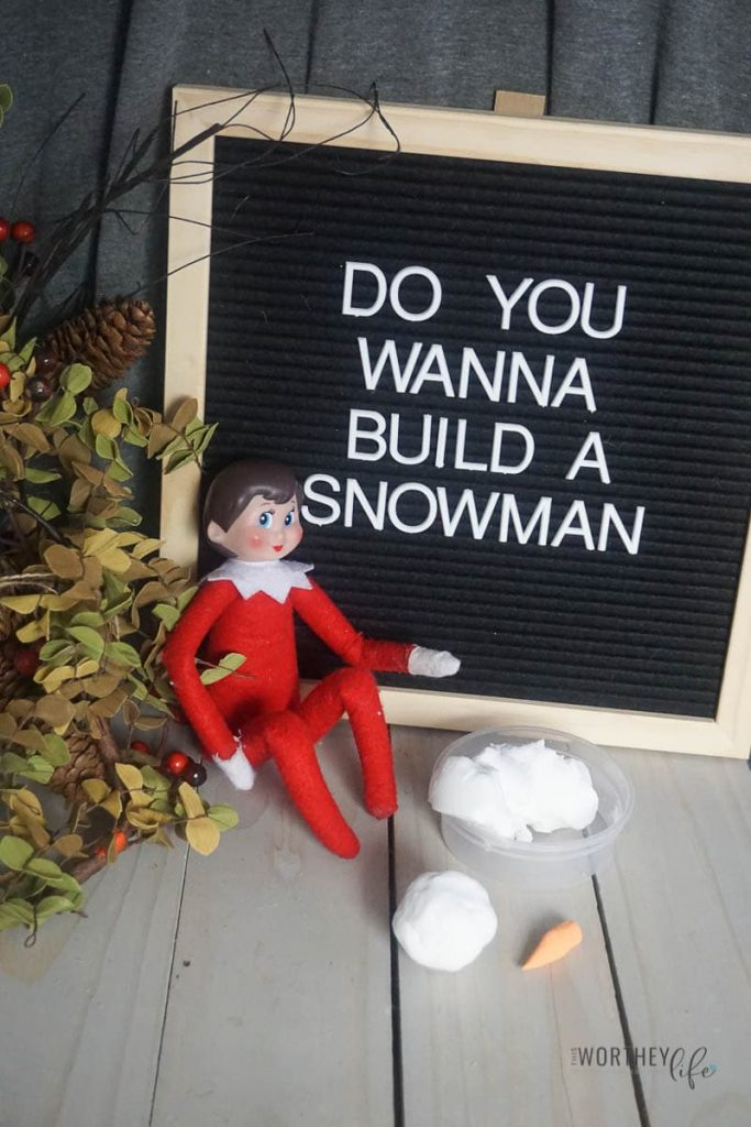 Elf Do you want to build a snowman