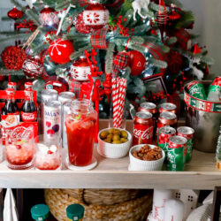How to stock a bar cart for the holidays