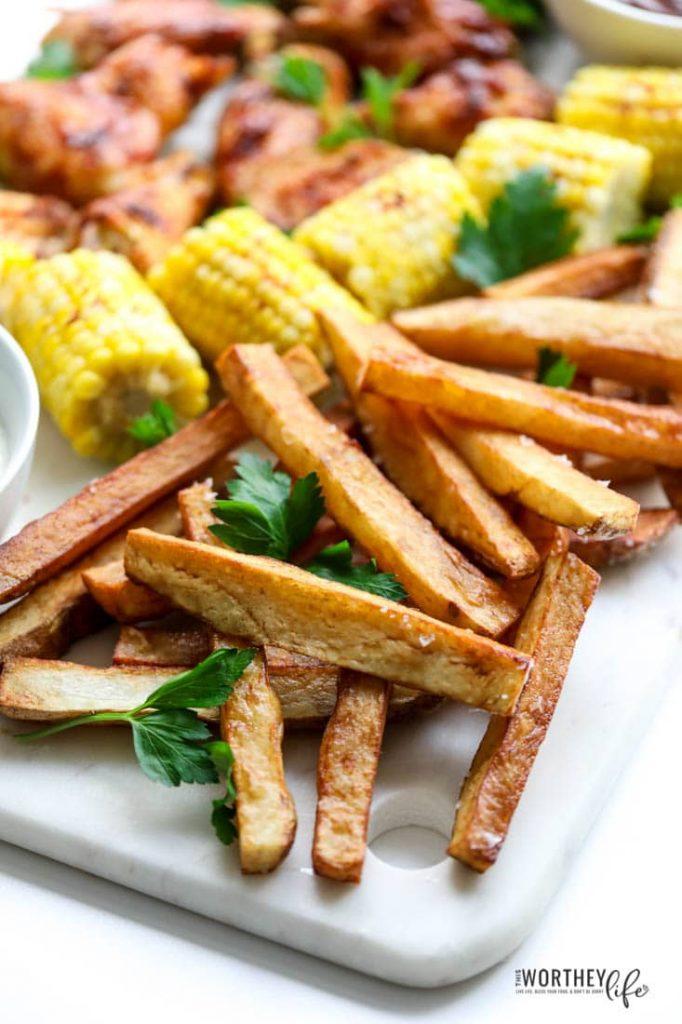 easy homemade potato fries