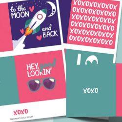 valentines card free