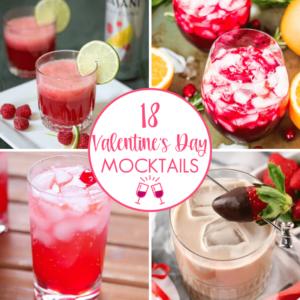 Valentine Mocktails For Kids and Grownups