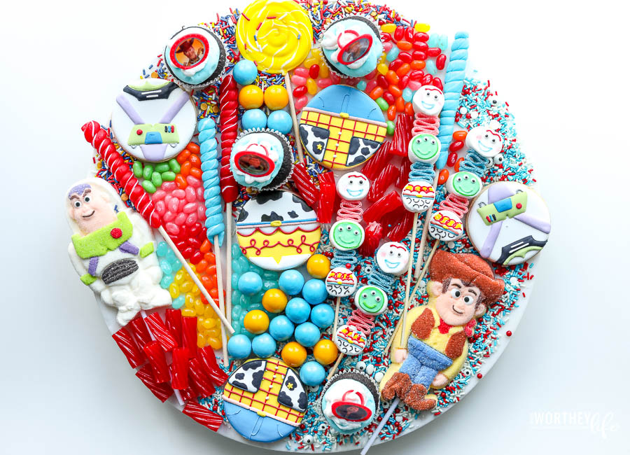 Toy Story Candy Board idea