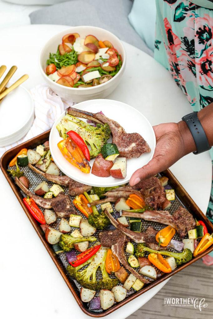 lamb sheet pan dinner ideas