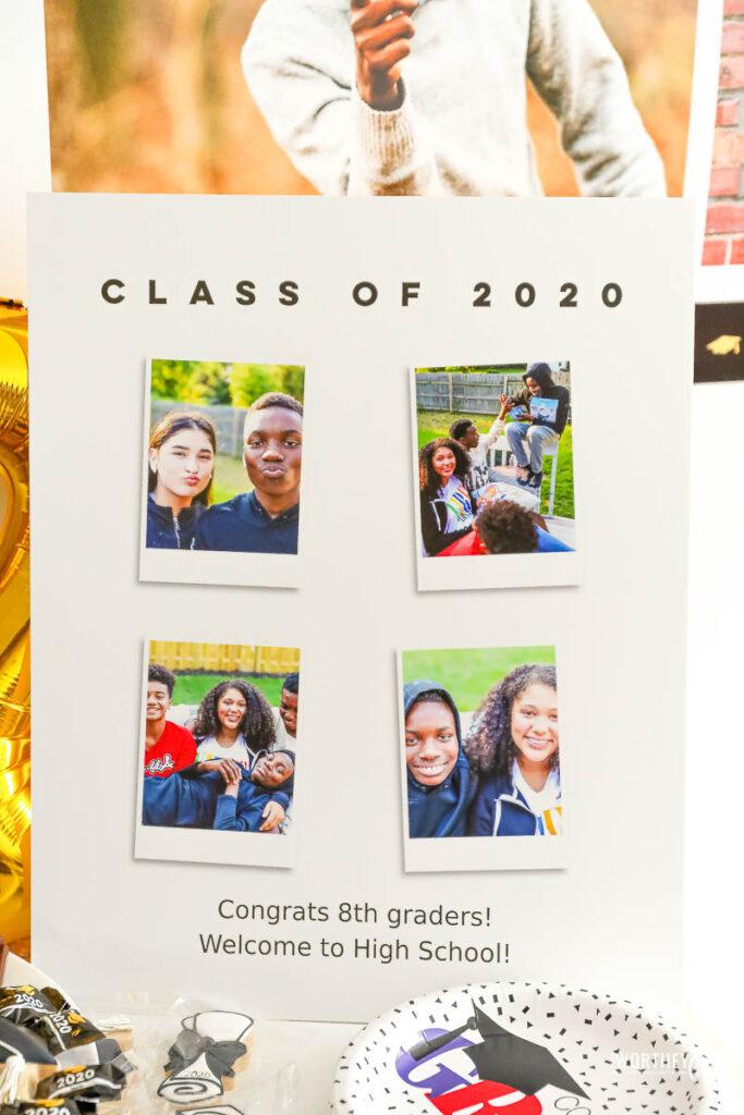 middle school graduation ideas