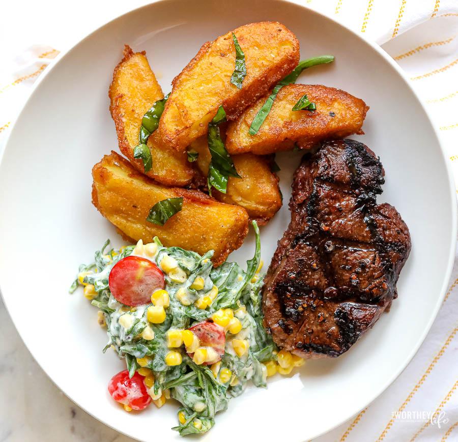 the best steak fries