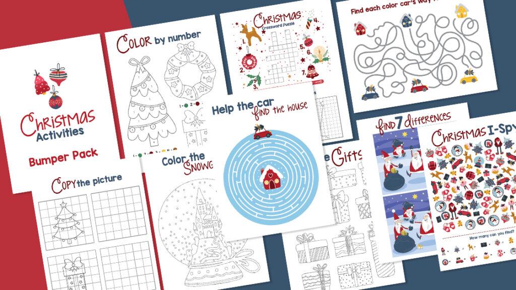 Christmas Activity Printables