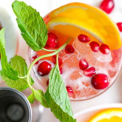 Whiskey Ginger Beer Sangria