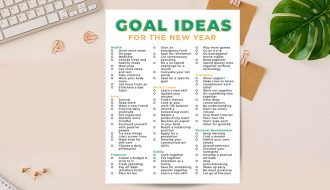 Goal Ideas for 2021