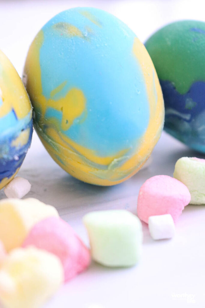 how to store easter eggs