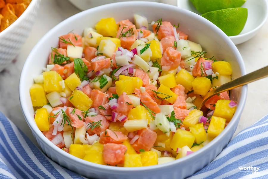 fresh veggies in a white bowl